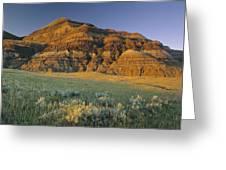 Big Muddy Badlands, Saskatchewan, Canada Greeting Card