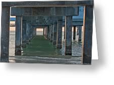 Big Pier 60 Clearwater Beach Greeting Card