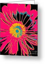Big Pop Floral Greeting Card