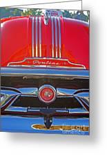 Big Red Pontiac Greeting Card