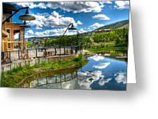 Big Sky Ski Resort II Greeting Card