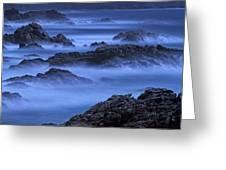 Big Sur Mist Greeting Card