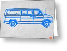 Big Van Greeting Card by Naxart Studio