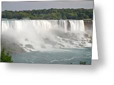 Big Waterfall Greeting Card by Naomi Berhane