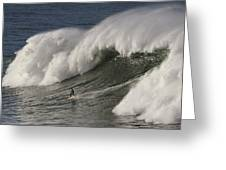Big Wave II Greeting Card