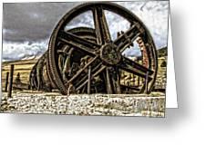 Big Wheels Greeting Card
