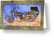 Bike 2a Greeting Card