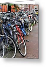 Bike Frenzy Greeting Card