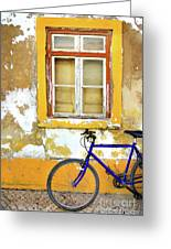 Bike Window Greeting Card