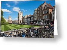 Bikes Cambridge Greeting Card