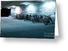 Bikes Greeting Card by Igor Kislev