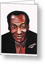 Bill Cosby Greeting Card