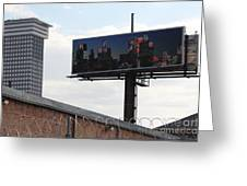 Billboard Art Project 2011 Greeting Card