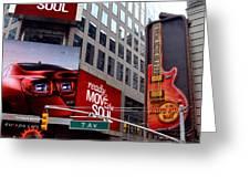 Billboards Greeting Card
