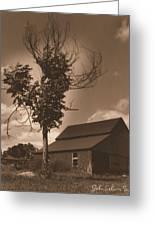 Bills' Barn Greeting Card