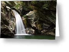 Bingham Falls Stowe Vermont Greeting Card