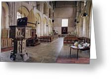Binham Priory Greeting Card