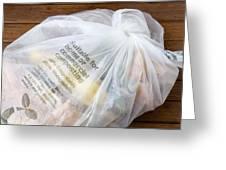 Biodegradable Plastic Bag Greeting Card