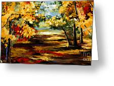Birch Forest 4 Greeting Card