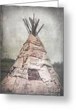 Birch Teepee Greeting Card