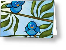 Bird Branch2 Greeting Card by Melisa Meyers