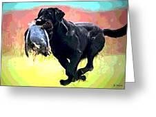 Bird Dog Greeting Card