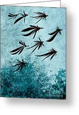 Birdeeze -v03 Greeting Card by Variance Collections