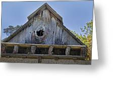 Birdhouse In Cambria Greeting Card