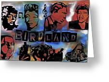 Birdland Greeting Card