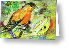 Birds 01 Greeting Card