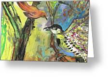 Birds 03 Greeting Card