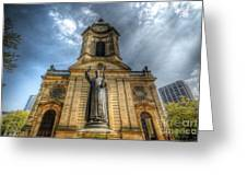 Birmingham Cathedral 1.0 Greeting Card
