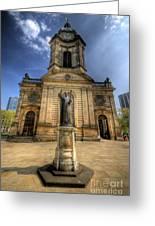 Birmingham Cathedral 2.0 Greeting Card