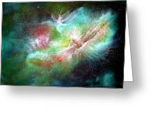 Birth Of Angels Greeting Card