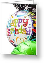 Birthday Balloons Greeting Card by Tom Gowanlock