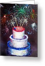 Birthday In America Greeting Card