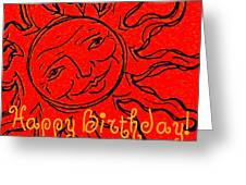 Birthday One Greeting Card