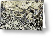 Black And White Abstract IIi Greeting Card