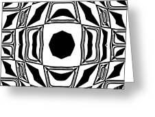 Black And White No.194. Greeting Card