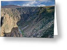 Black Canyon Afternoon Greeting Card