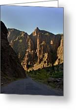 Black Canyon  Greeting Card