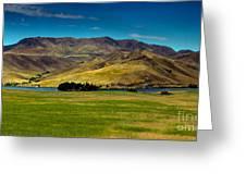 Black Canyon Reservoir Greeting Card