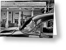 Black Car Havana Greeting Card