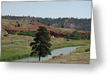Black Hills Landscape Greeting Card