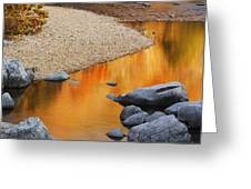 Black River Reflections At Johnsons Shut Ins State Park I Greeting Card
