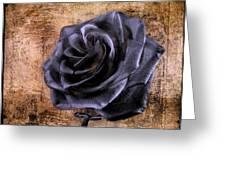 Black Rose Eternal   Greeting Card by David Dehner