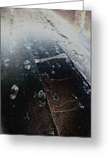 Black Steps Greeting Card