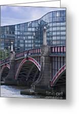 Blackfriars Bridge Greeting Card