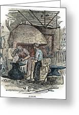 Blacksmith, C1865 Greeting Card