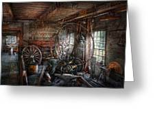 Blacksmith - That's A Lot Of Hoopla Greeting Card